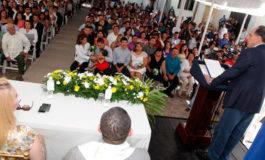 Con unas 70 bodas gratis inicia el mes de la familia en la capital