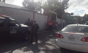 Tirotean a padre de familia dentro de escuela en Tegucigalpa (Video)