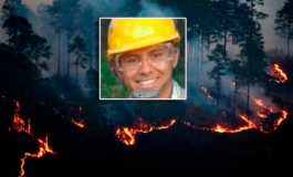 Bombero sobreviviente del incendio en La Montañita recibe el alta en México