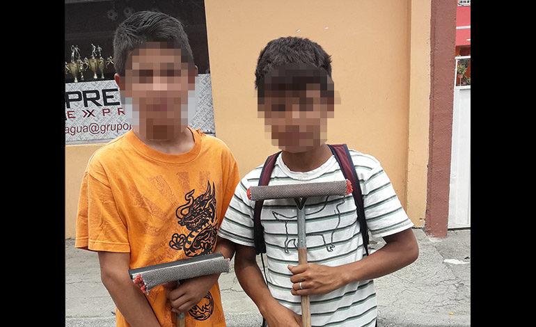 Sube número de menores en calles