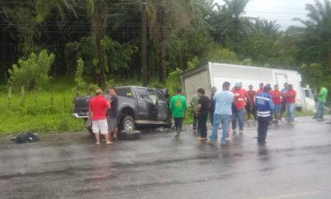 Dos muertos deja accidente vial en El Progreso, Yoro