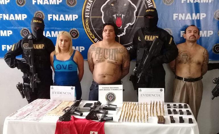 Capturan a jefe de la pandilla 18 en San Pedro Sula