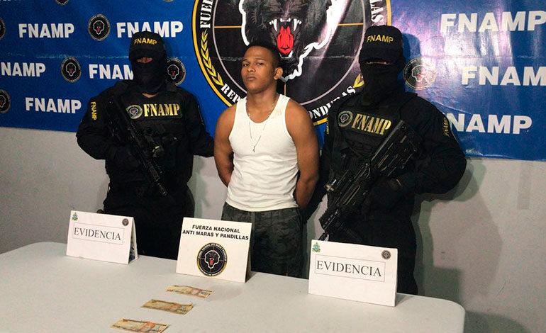 Capturan extorsionador de la pandilla 18 en San Pedro Sula