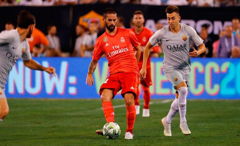 Real Madrid cierra gira doblegando a la Roma