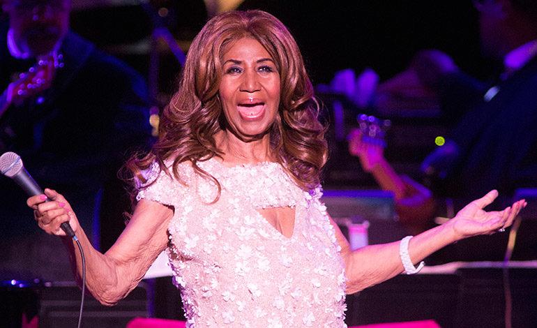 Aretha Franklin está animada y consciente