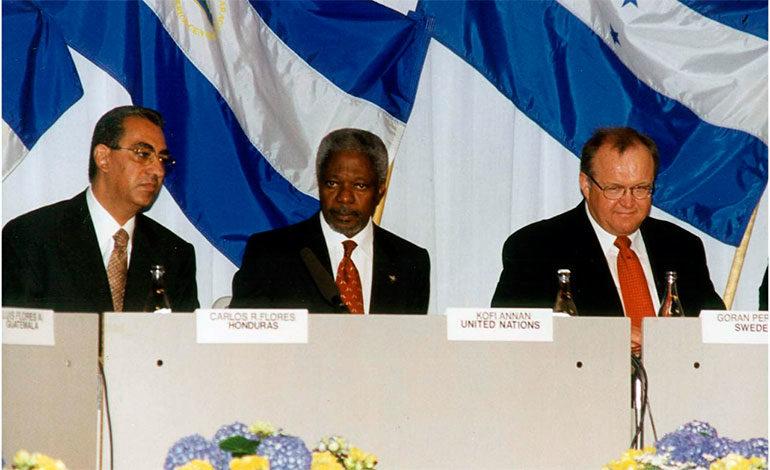 Exsecretario de la ONU Kofi Annan estuvo muy ligado a Honduras