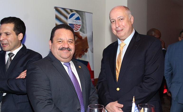 Rafael Medina y Eddy Atala.