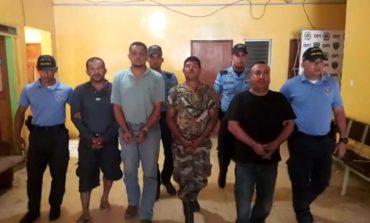 Arrestan a cuatro hombres acusados de matar a otra persona en Yoro