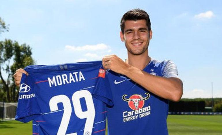 Morata cambia el '9' por el '29' en honor a sus hijos