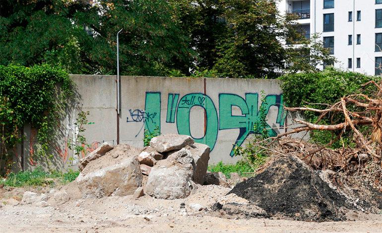Descubren un remanente del Muro de Berlín