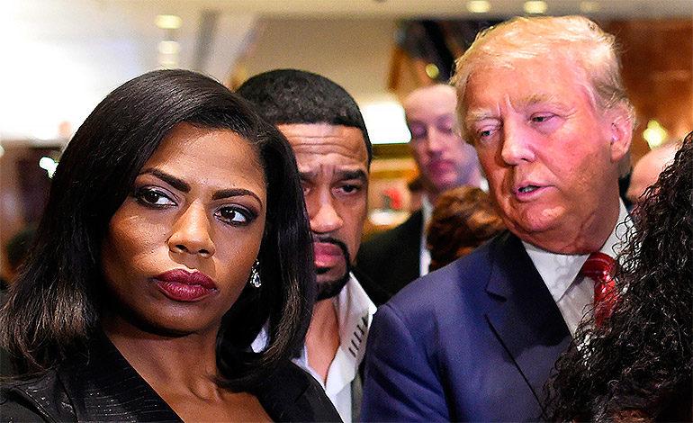 """Trump califica de """"chiflada"""" a exasesora que grabó en secreto en Casa Blanca"""