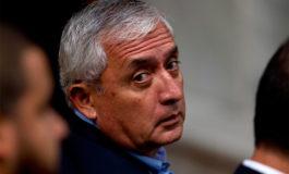Ingresan de emergencia a hospital a expresidente guatemalteco preso por corrupción