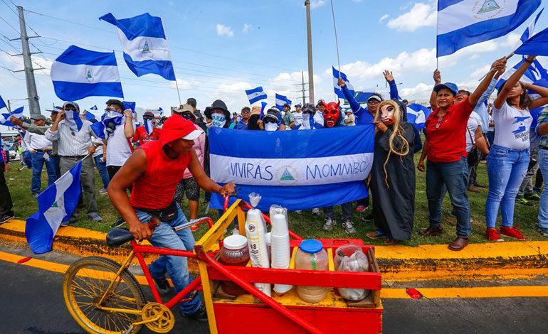 Inicia marcha contra Ortega a 4 meses del estallido social de Nicaragua