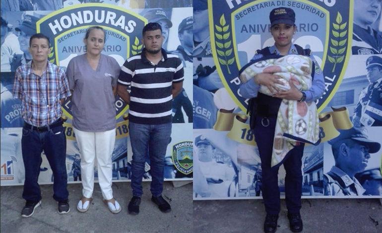 Cae supuesta banda que roba niños en San Pedro Sula