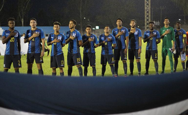 Honduras pierde el liderato del torneo Sub-19 de Uncaf