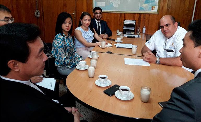 Empresario taiwanés interesado en el marañón, aguacate y soja hondureña
