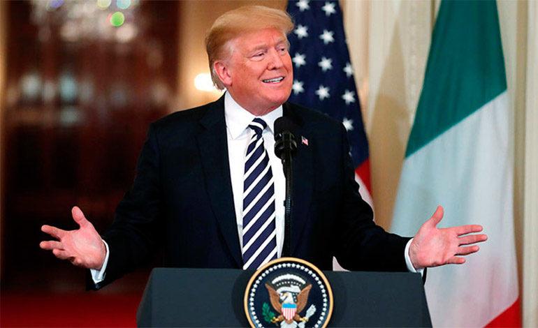 """Trump reitera que está """"abierto"""" a un acuerdo """"más amplio"""" con Irán"""