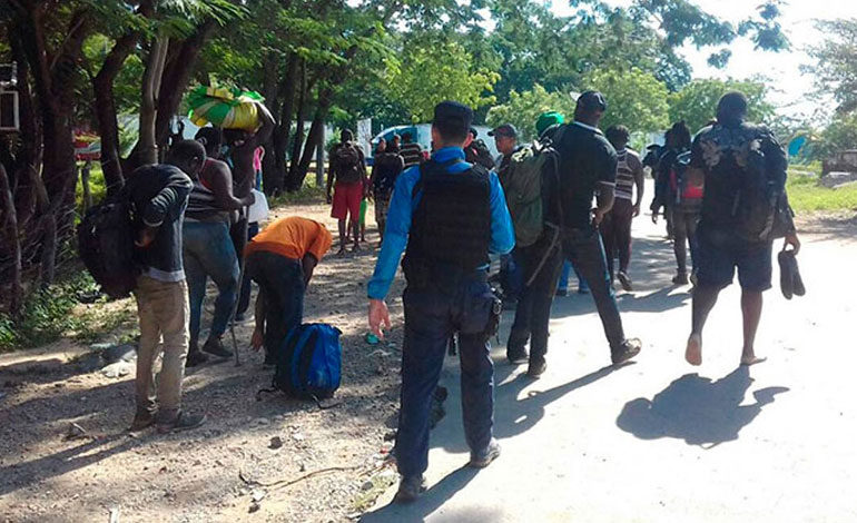 Honduras detiene a 26 africanos, 10 de ellos niños, que iban a EEUU