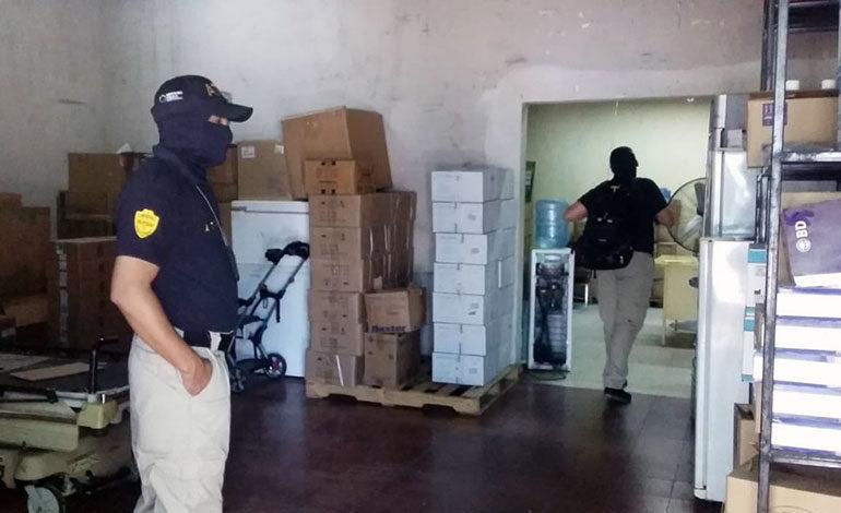 La ATIC secuestra documentos del hospital Santa Teresa de Comayagua