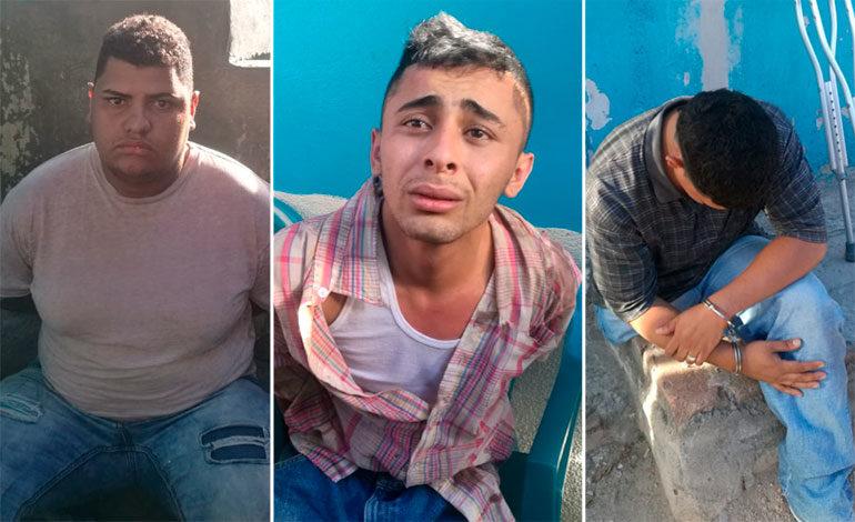 Caen sospechosos de matar a guardia de seguridad en la Quezada