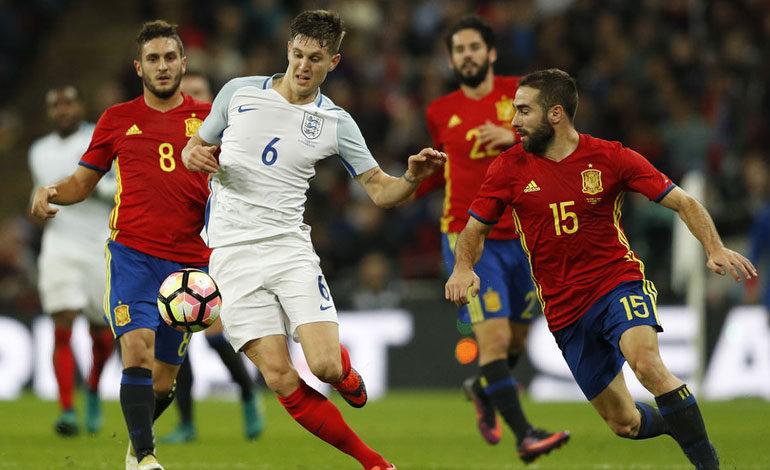 Inglaterra, prueba de altura para el debut de Luis Enrique con la Roja