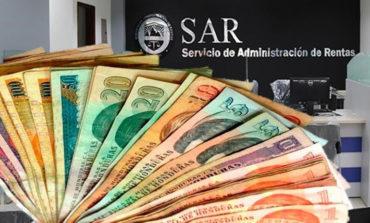 Recaudación tributaria suma L65 mil millones