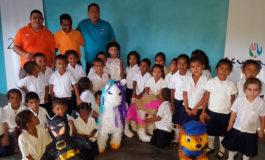 IPM celebra a los niños tolupanes en Victoria, Yoro