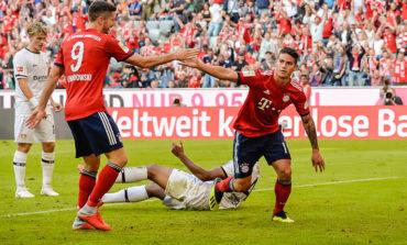 James Rodríguez brilla en la cuarta victoria seguida del Bayern