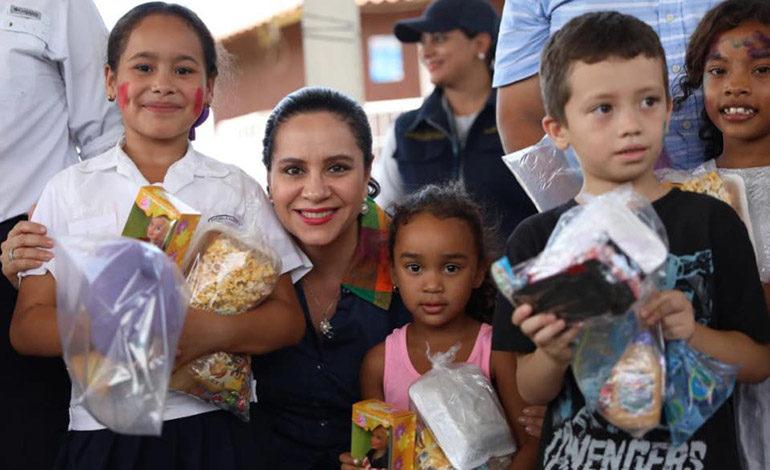 """Primera Dama: """"En Gobierno de Juan Orlando Hernández la niñez es prioridad"""""""