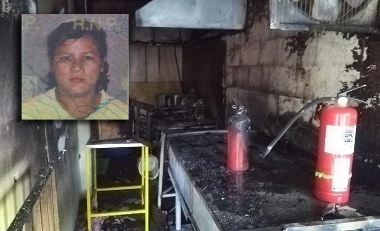 Muere mujer que resultó quemada en explosión de chimbo de gas