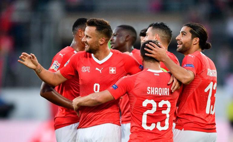 Suiza arrolla a Islandia y le golea 6-0 en debut de Liga de Naciones