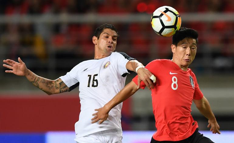 Costa Rica pierde y deja dudas en amistoso ante Corea del Sur