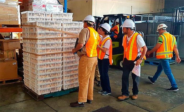 USDA inspecciona sistema cuarentenario de Honduras