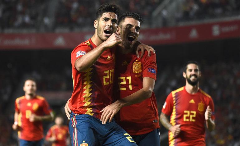 España golea a Croacia en la Liga de Naciones