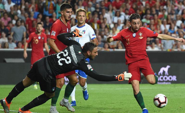 Portugal gana sin Cristiano a una italia sin juego