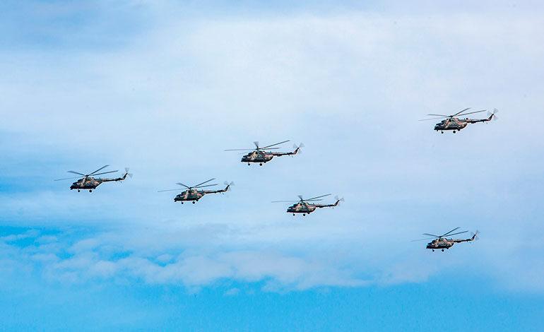 Rusia exhibe su potencia militar en unas gigantescas maniobras