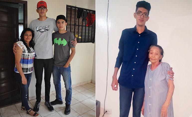 El hombre más alto de Honduras se graduará de ingeniero electrónico
