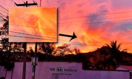 Capitalinos ven imagen de bruja en el cielo (Video)