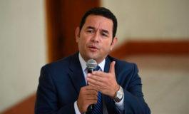 """Jimmy Morales dice que unión aduanera es un """"hito histórico"""" en toda América"""