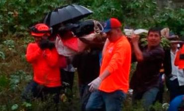 Hallan cadáver del joven arrastrado por la quebrada El Sapo (Video)