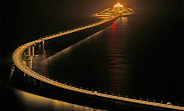 China inaugura el puente marítimo más largo del mundo (Video)