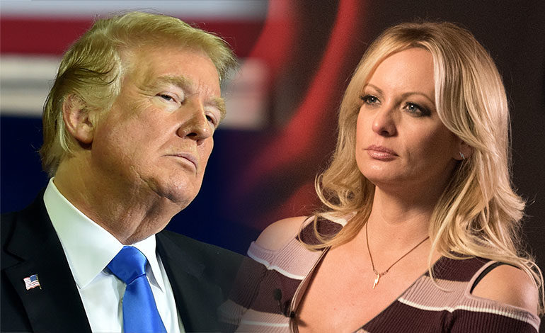 """Trump llama """"cara de caballo"""" a actriz Stormy Daniels y promete represalias"""
