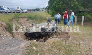 Dos lesionados deja accidente vial en Comayagua