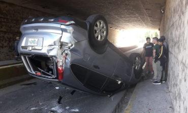 Tres lesionados deja accidente vial en Tegucigalpa