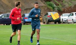 Acosta ya entrena con el Tenerife