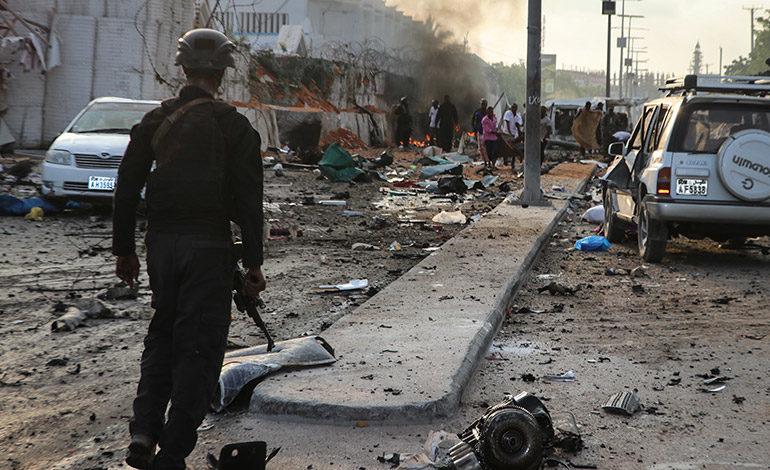 El atentado en la capital somalí causó al menos 41 muertos