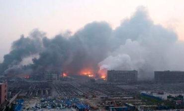 Al menos 22 muertos en una explosión junto a una planta química en China