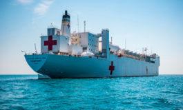 Honduras agradece apoyo médico con llegada de buque hospital de EUA