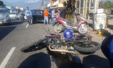 Un muerto y un herido deja accidente vial en San Pedro Sula