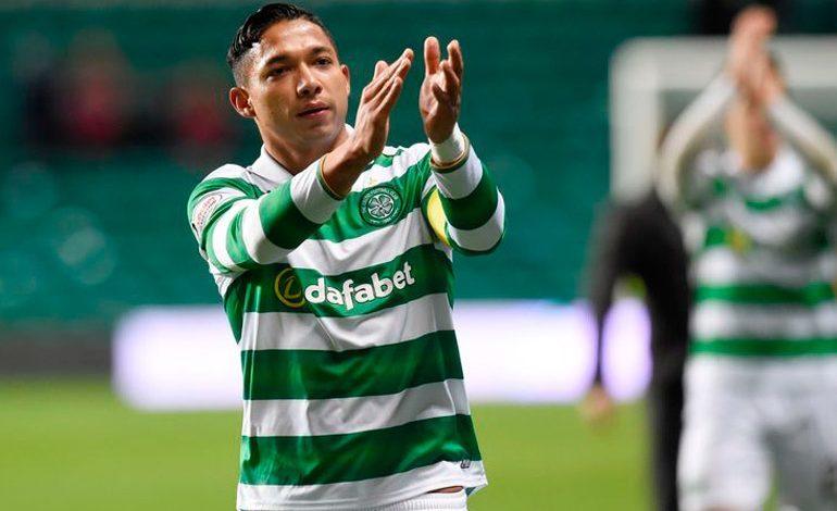 Emilio Izaguirre, titular en victoria del Celtic